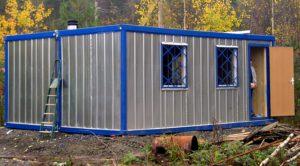 металлический блок-контейнер