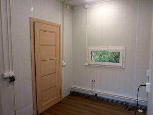 модульный дом внутри